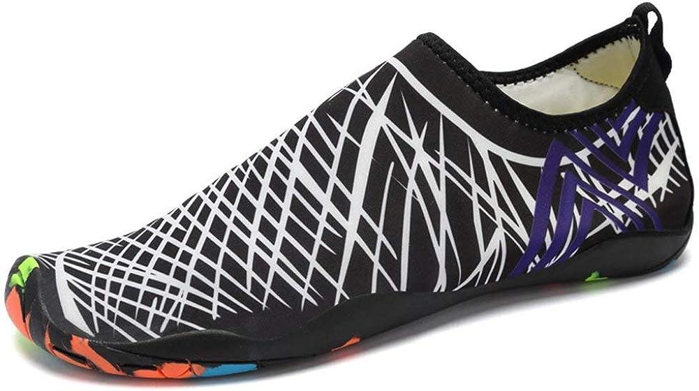 Mabove Chaussures Aquatique pour Femme et Homme Chaussures deau Chaussures de Plage de Yoga de Surf de Nager Sport Aquatique Chaussettes de Plong/ée pour Piscine et Plage