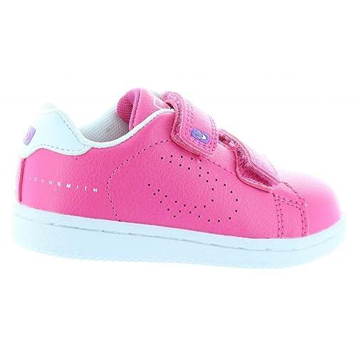 Zapatillas Deporte de Niño y Niña JOHN SMITH CORUMVEL 15I Fucsia Talla 34: Amazon.es: Zapatos y complementos