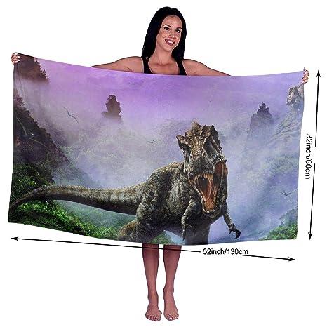 Toallas de baño de dinosaurio KSIY, toalla de baño para hotel-piscina-gimnasio