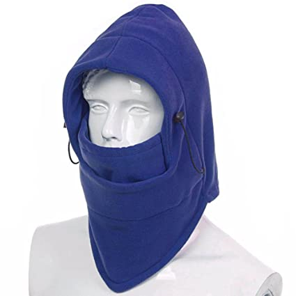 b5a25fccb80 Fleece Balaclava Hooded Face Mask Neck Warmer Fleece Windproof Ski Face  Mask Balaclavas Hood Functional Warm Helmet Winter Face Hat Full Face Mask  Equipment ...