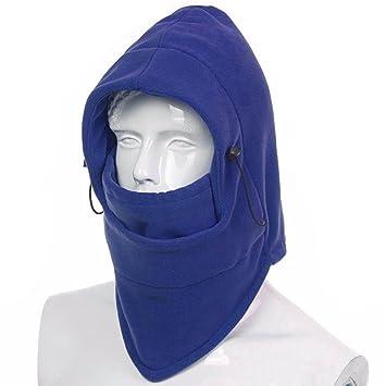 39e0c5dc479 Ezyoutdoor Bucket Hat Full Face Mask Winter Thermal FLEECE Swat Ski Neck  Hoods Full Face Mask