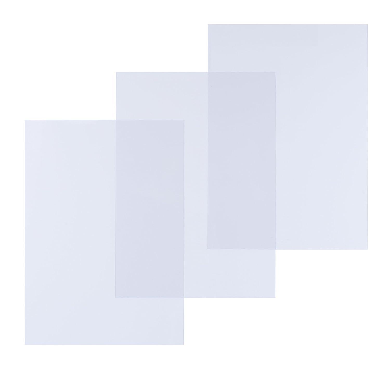 Pavo Covers a3-transparent、PVC、0,20 MMパックof 100透明   B00W1JBKRU