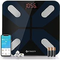 Etekcity Weight Scale, Smart Body Fat Scale, Bathroom Bluetooth Digital Scale Tracks 13 Key Compositions Analyzer, 6mm…