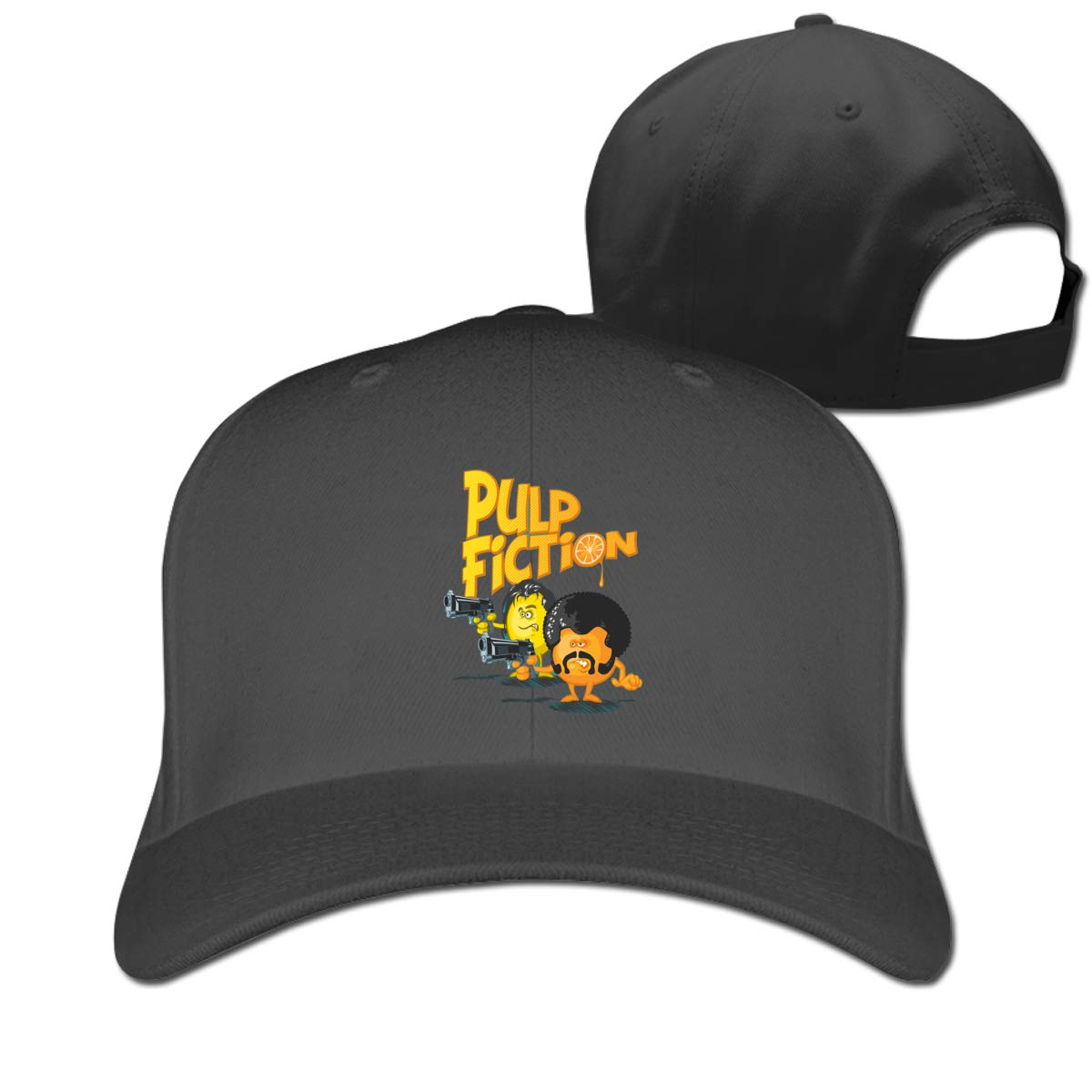 Pulp Fiction Classic Adjustable Cotton Baseball Caps Trucker Driver Hat Outdoor Cap Fitted Hats Dad Hat Black