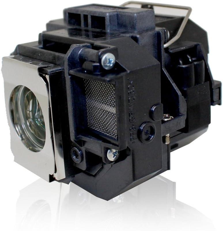 PanPacSight Bombilla Proyector ELPLP54 V13H010L54 Compatible con Epson EB-S7 S7 EH-TW450 EX31 EX31B EX51 EX71 H309A H310A H311A H311B H310C PowerLite HC 705HD Lampara S72 S8 S82 X7 X72 X8 X8E W7 W8