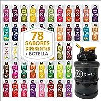 Pack 78 Sabores Bebidas Bolero Sin Azucar + Botella Limitada Cia&Co 1,5 Litros | Todos Los Sabores Diferentes | Todas…