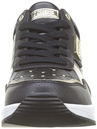 c656566555 Amazon.com   GUESS Women's Janetta/Active Lady/Leather Li Trainers    Fashion Sneakers