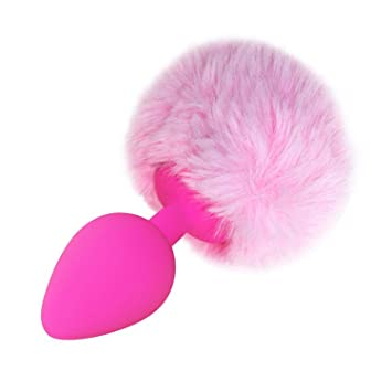 9542d2821 Anal Sex Toys Multiple Colors Small Size Silicone Rabbit Tail Anal Plug  Bunny Tail Sex Toys