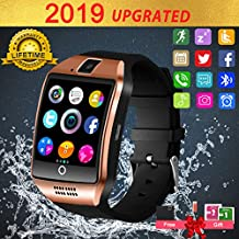 Smart Watch,Smart Watches,Smartwatch for Android Phones, Smart Wrist Watch Touchscreen with Camera Bluetooth Watch Phone Watch Cell Phone Compatible Android Samsung iOS iPhone Xs XR X 8 7 6 Men Women