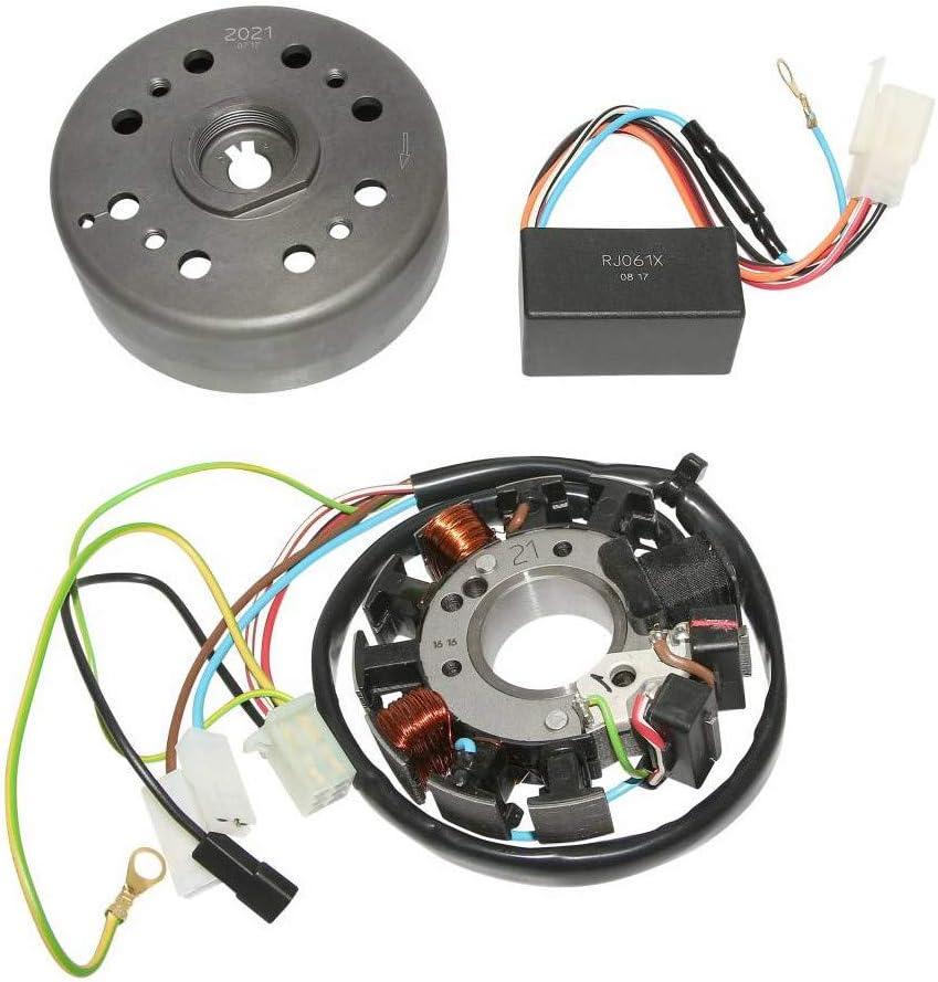 KRD - Encendido de Bicicleta analógico con Rotor Externo para ...