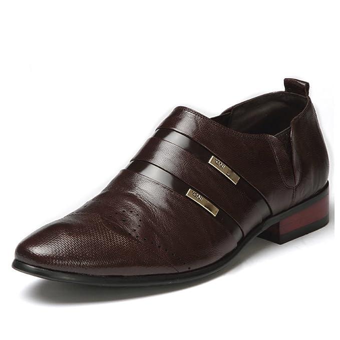 GTYMFH Moda Zapatos De Los Hombres Zapatos Baja Ayuda Señaló ...