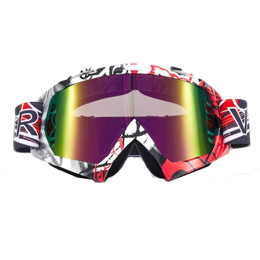 Style15 F MINIKATA Ski Goggles, Snowboard Goggles UV Predection, Snow Goggles Helmet Compatible for Men Women Boys Girls Kids, Anti Fog OTG
