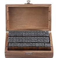 Wooden Stamp Set, Alphabet Rubber Stamps, DIY Craft Alphabet Stamps, for Scrapbook, Card Making, Crafts for Kids
