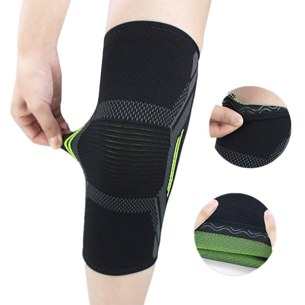 Knee Brace for Men Women,Knee Compression Sleeve Sports,Gym,Joint Pain Relief,Injury Recovery BCDshop Knee Support for Workout S, Black Jogging