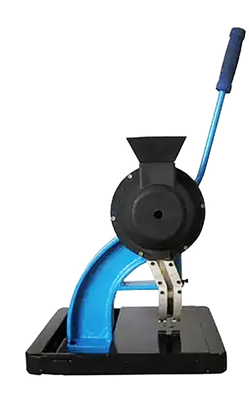 ハンドプレス機  ハンドプレス 半自動 グロメット グロメット小型 ホック打ち具 くるみボタン ハンドプレスマシン ハンドメイド 打ち具 業務用 (青い)  B07DFBGHRZ