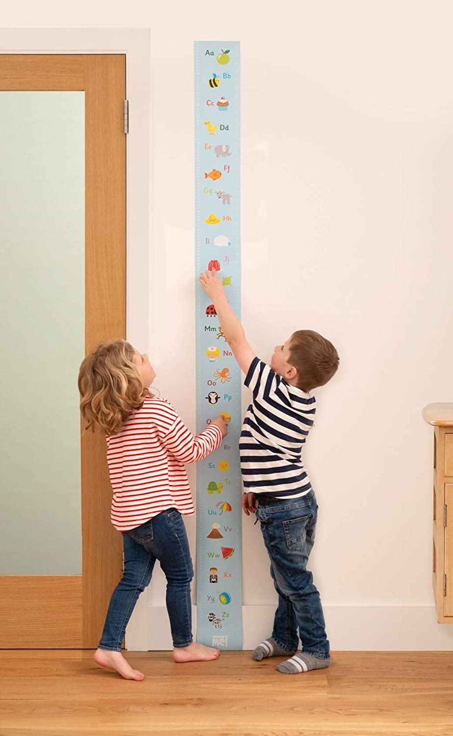Measure Me! Roll-up Height Chart for Children - Alphabetti Little Wigwam