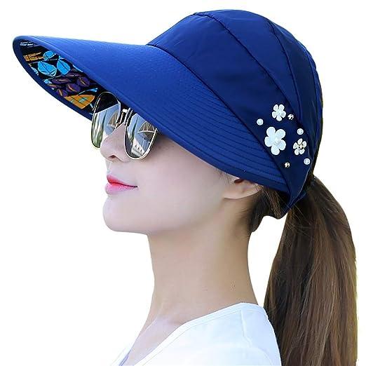 Xuanbao-Hat Visera Ocio Gorra para Sol Gorro de Playa de ...