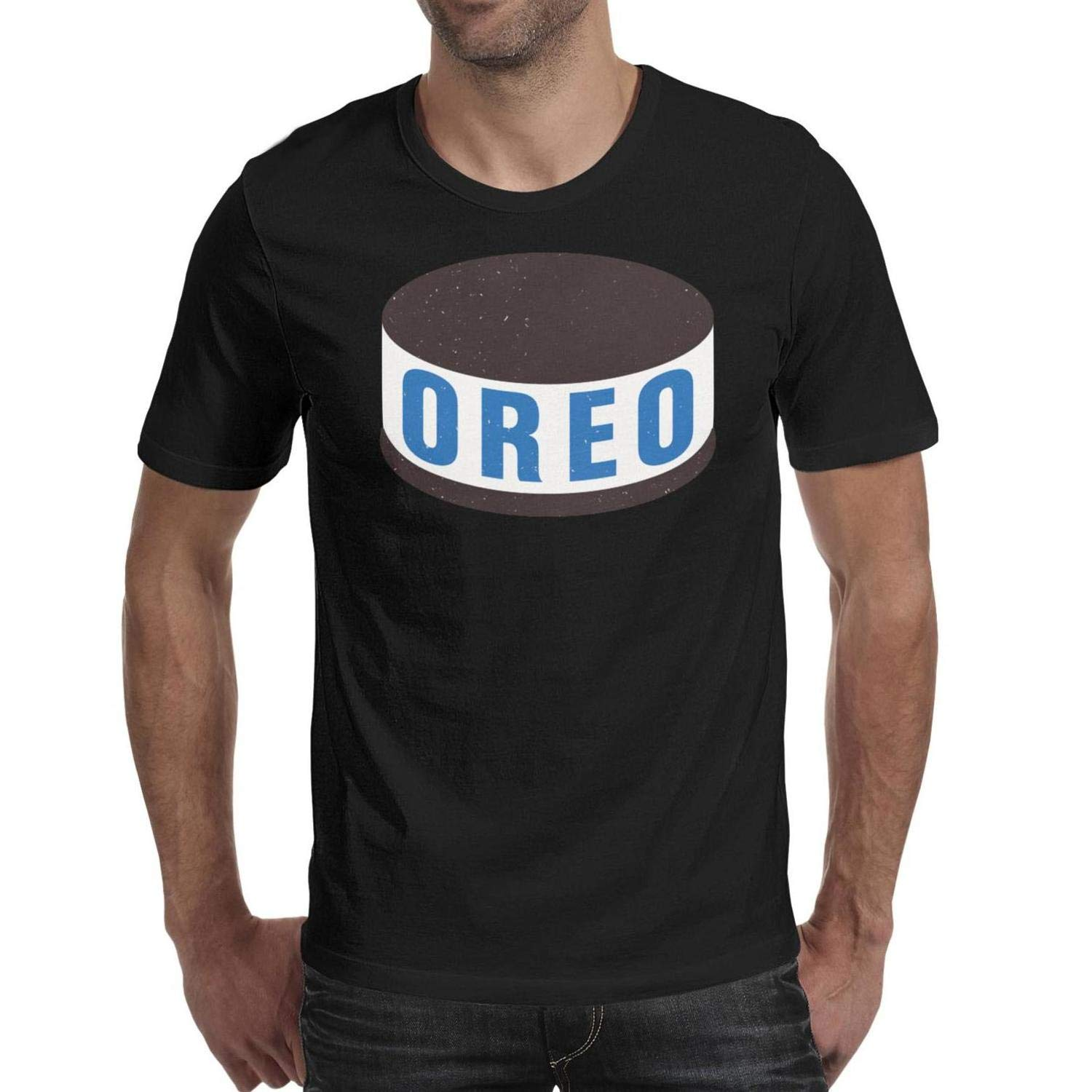 Double Oreo Lick Race Short Sleeve T Shirts Crew Neck Pullover Skin Friendly T Shirts