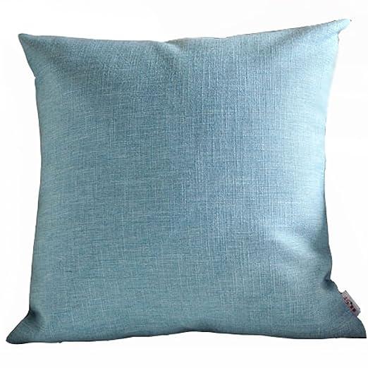 taomi homw grueso tejido gamuza de lino almohada europeo ...