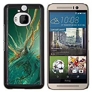 For HTC One M9Plus M9+ M9 Plus Case , Macro bacterias- Diseño Patrón Teléfono Caso Cubierta Case Bumper Duro Protección Case Cover Funda
