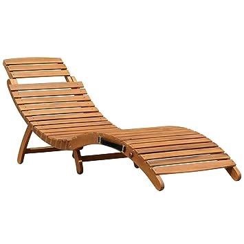Sonnenliege Klappbar Holz.Sonnenliege Gartenliege Liegestuhl Lounger Zusammenklappbar Aus Holz