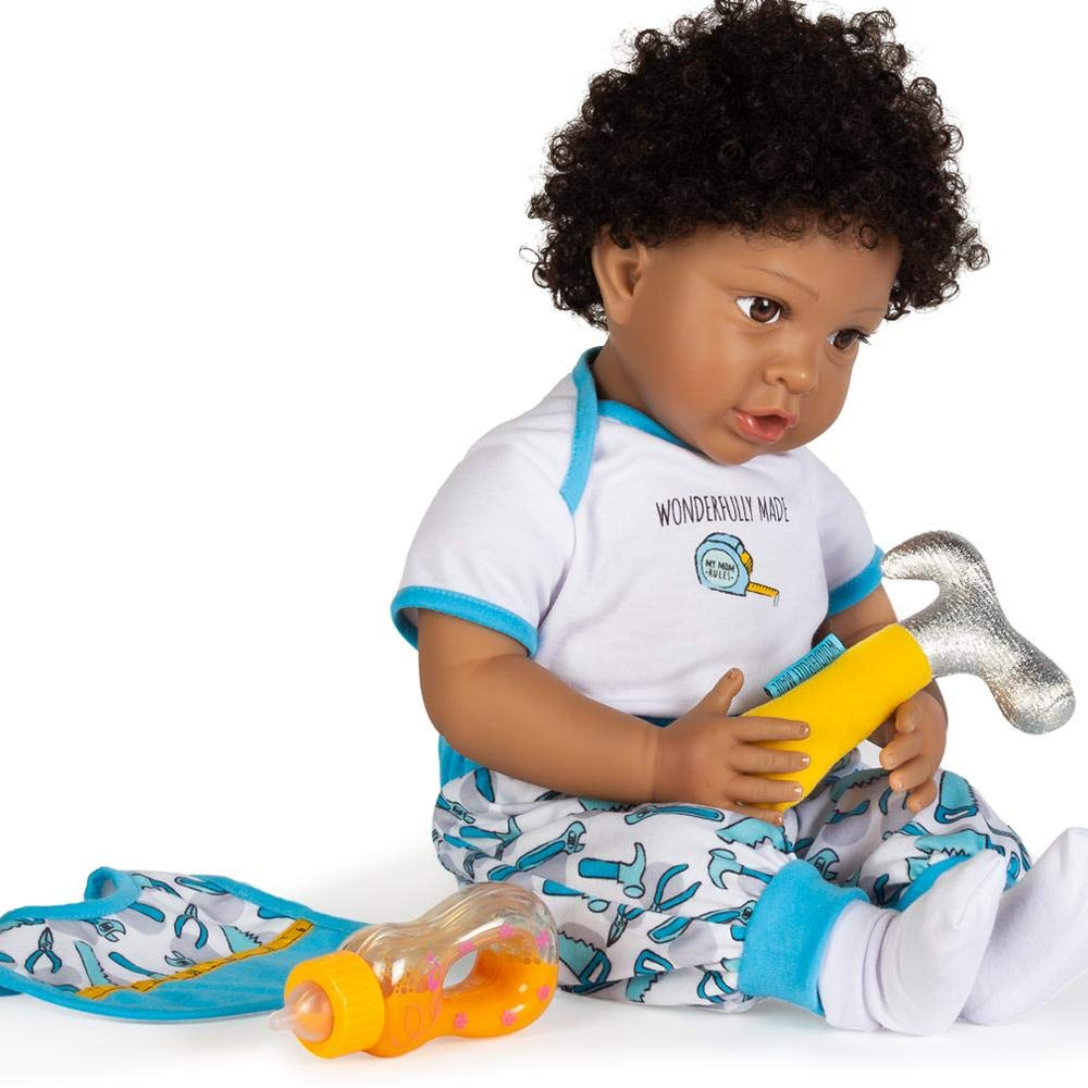 Paradise Galleries African American Black Reborn Baby Boy