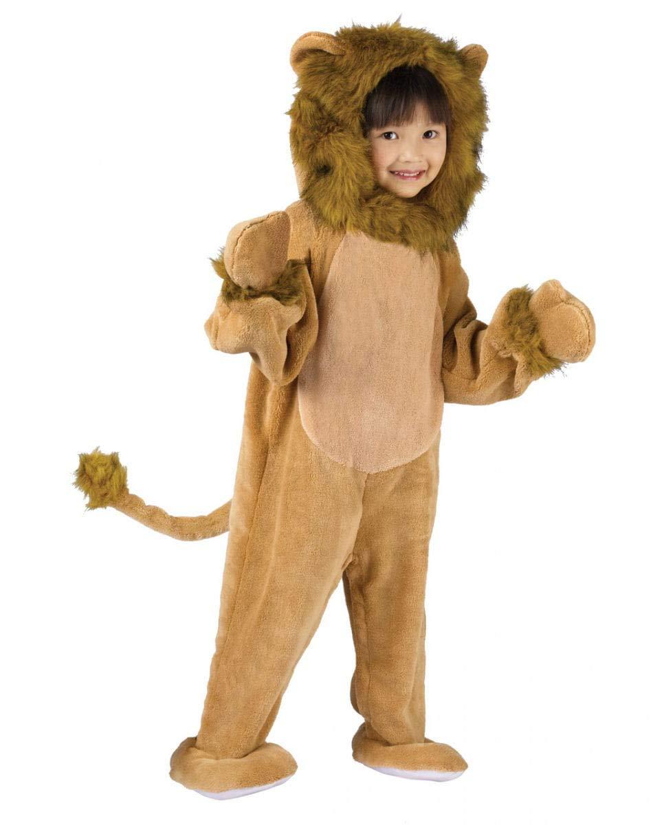 Un Cómodo León Peluche Disfraz Para Niños Pequeños en Fasching ...