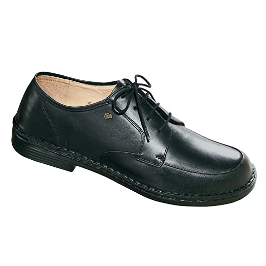 Finn Comfort Hilversum Mens Oxfords, Black Trento, Size - 12