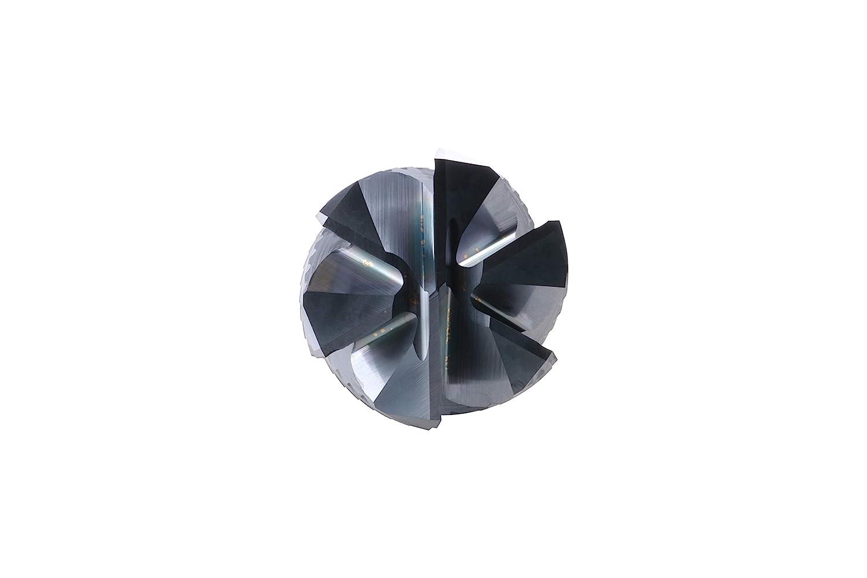 WIDIA Hanita 28380600T010 VariMill 2838 GP Roughing//Finishing End Mill Carbide Ball Nose 2-Flute RH Cut Straight Shank TiAlN 6 mm Cutting Diameter
