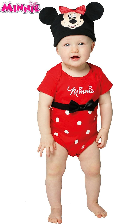 Disfraz de Minnie Mouse Body para bebé: Amazon.es: Juguetes y juegos