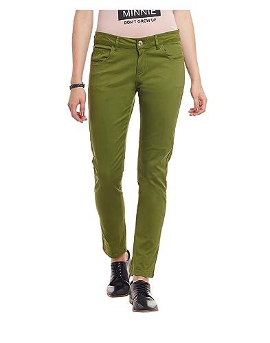 Yepme - Torrie Pantalones De Colores - Verde