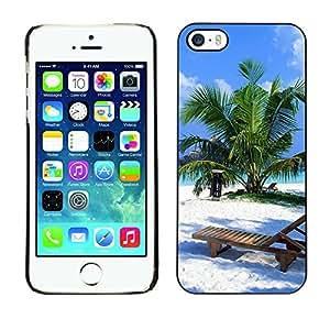 - Sex on the sunshine beach island - - Monedero pared Design Premium cuero del tir¨®n magn¨¦tico delgado del caso de la cubierta pata de ca FOR Apple iPhone 5 5S Funny House