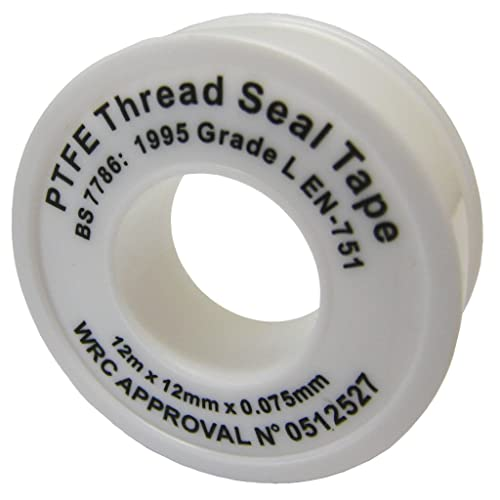All trade direct ptfe white thread seal tape mx mm