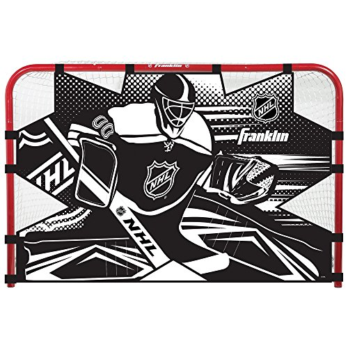 Championship Target Shooting Goal - Franklin Sports Championship 72 Inch Hockey Shooting Target - NHL - for 72 x 48 Inch Goal