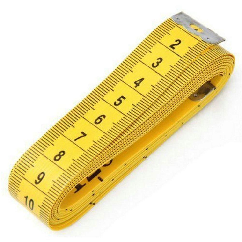 TOOGOO Suave 3 Metros 300 CM Cinta de sastre de coser Regla de medicion medida del cuerpo confeccion de ropa