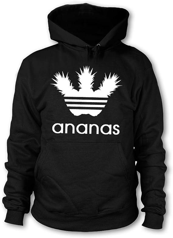 Ananas Pulli Regular Fit Fun Kapuzenpullover Ananas Unisex Hoodie