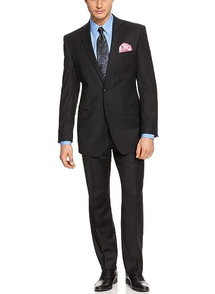 Amazon.com: Calvin Klein - Traje de 2 botones para hombre ...