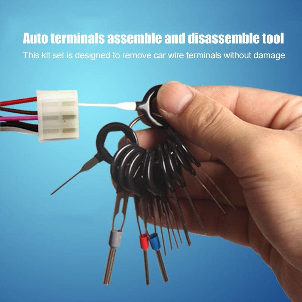 Kfz-Anschluss Werkzeugstift entfernen Elektrischer Abzieher Crimpdrahtverbinder Abzieher l/ösen
