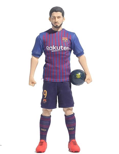 Sockers - Figura FCB de Luis Suárez, Azul Grana, 30 cm (BanboToys 2