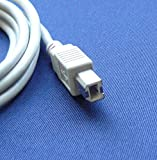 Epson PictureMate Charm Personal Photo Lab Printer Compatible USB 2.0 Cable Cord for PC, Notebook, Macbook - 6 feet White - Bargains Depot®