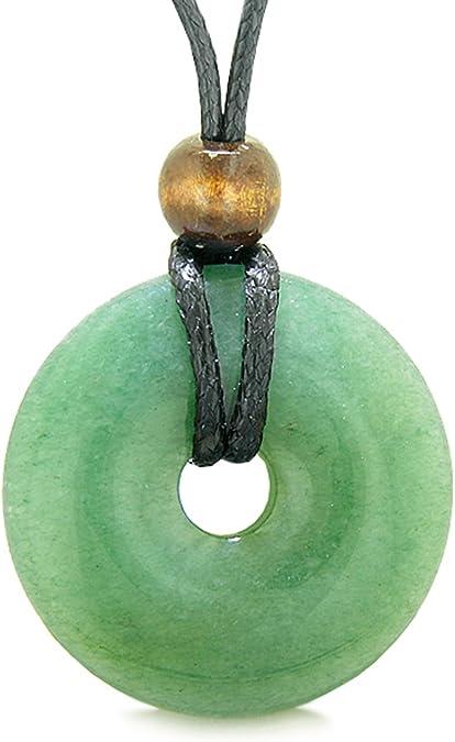 PEN-190603-02 Genuine Fluorite Gemstone Donut Circle Pendant Size 40mm Sale by piece