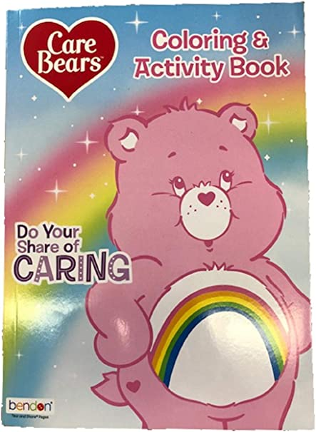 - Amazon.com: Coloring Book - Care Bears - Coloring And Activity Book - Party  Favors - (8 Books): Toys & Games