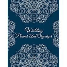 "Wedding Planner And Organizer: Classic Mandala, 2019-2020 Calendar wedding Monthly Planner 8.5"" x 11"" Wedding Planning Notebook, Guest Book, Perfect Wedding Gift"
