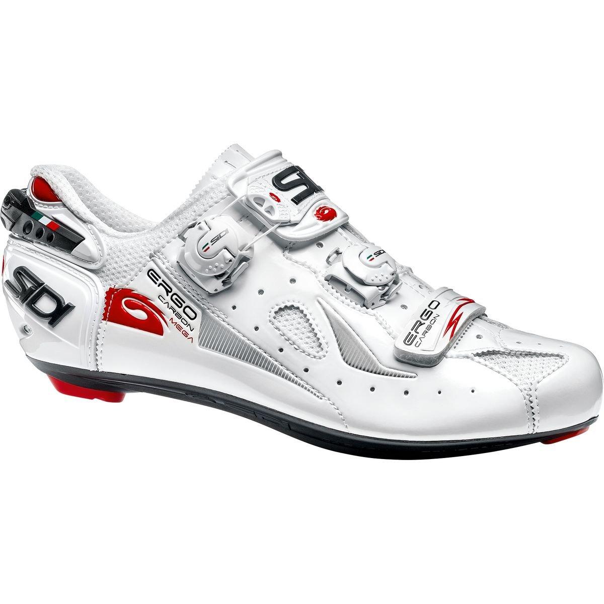 格安 (シディ) Ergo Sidi Ergo 4 Carbon Mega Shoe B07G76MWHJ メンズ Shoe ロードバイクシューズWhite [並行輸入品] 日本サイズ 30cm (47.0/Wide) White B07G76MWHJ, タイヤステージ 湘南:377c1ce7 --- by.specpricep.ru