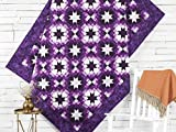 quilt kits - Craftsy Boundless Botanical Twinkling Stars Quilt Kit (Purple)