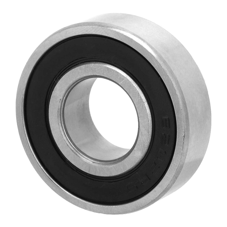 6202-2rs Cuscinetti a sfere in acciaio sigillati in gomma su due lati 15x35x11mm 10 pezzi Cuscinetti a sfere a gola profonda