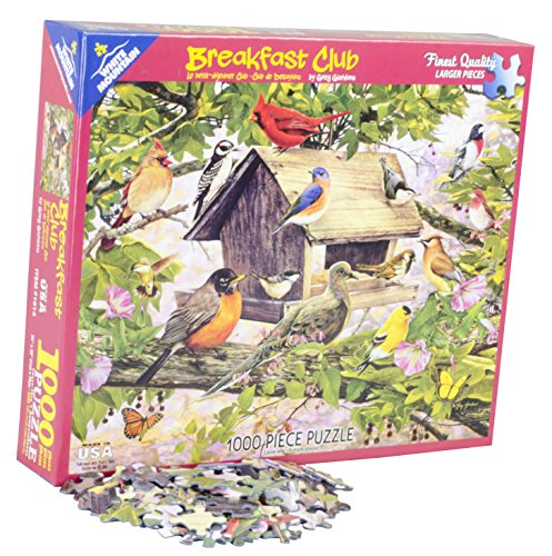 White Mountain Puzzles Breakfast Club - 1000 Piece Jigsaw Puzzle