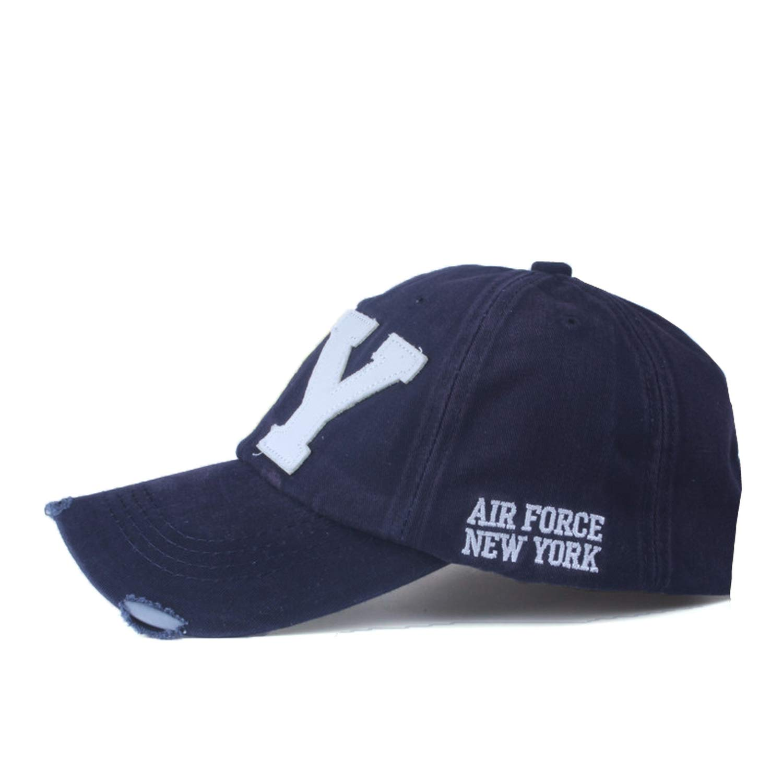 Amazon.com: FUZE Unisex Baseball Cap Snapback Hat Sun Hat Bone Gorras Ny Embroidery Spring Cap: Clothing