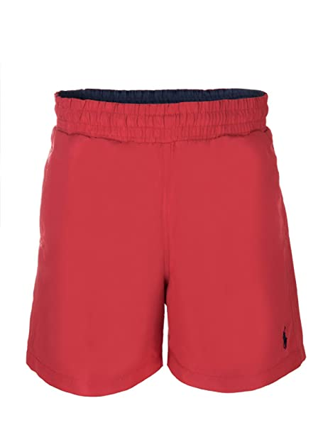 Ralph Lauren - Short de bain - Homme Rouge Rouge: Amazon.es: Ropa ...