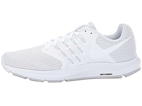 pretty nice 39a2b f734e Nike Women s Run Swift Running Shoe, White White-Pure Platinum, Size 8